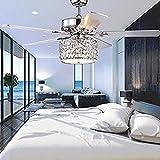 Aspas del ventilador de techo del LED en un bajo perfil cinco modelos de madera interior y exterior de la sala de estar, dormitorio, comedor, bar, restaurante