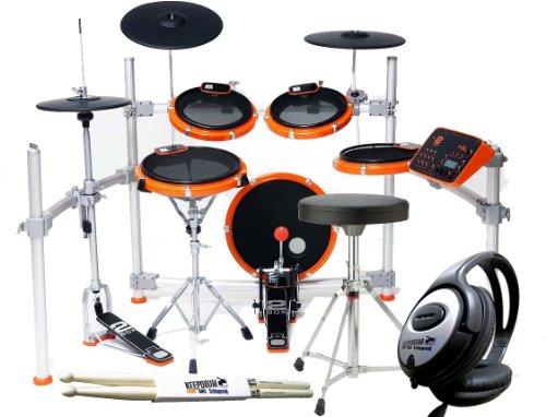 2Box Drumit Five MK2 E-Drum Set + Keepdrum Sticks + Kopfhörer + Hocker GRATIS!