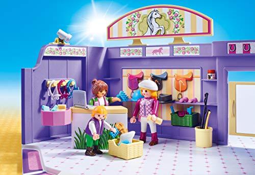 PLAYMOBIL City Life Tienda de Equitación, A partir de 5 años (9401) , color/modelo surtido