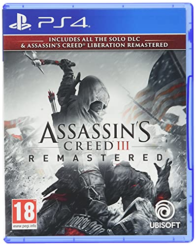 Assassin'S Creed Iii Remastered & Liberation Remastered Ps4- Playstation 4
