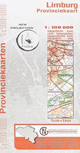 Topografische kaart 1/100.000 Provincie Limburg VTPRO.LIMB.PP.1