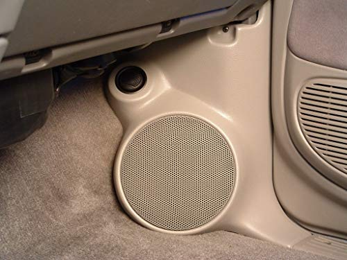 """Q Logic Q Forms 6.5"""" Kick Panel Component Speaker Enclosures Compatible with Toyota Sequoia & Tundra"""