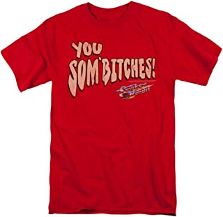 Smokey & The Bandit Men's Sombitch T-Shirt Red