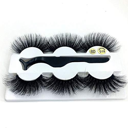 20-25Mm Fake High quality Eyelashes 100% Mink Volume Dramatic Lashes Natural Max 84% OFF