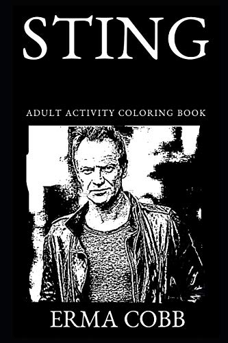 Sting Adult Activity Coloring Book (Sting Adult Coloring Books)