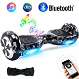 TOEU Overboard Hover Scooter Board Gyropode Bluetooth 6.5 Pouces, Scooter Electrique Auto-équilibrage pour Enfant et Adult