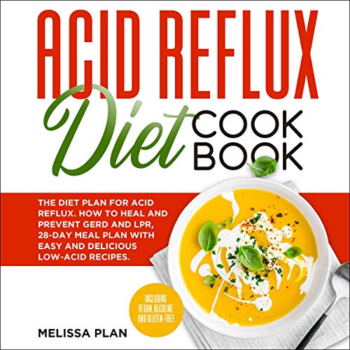 Acid Reflux Diet Cookbook cover art