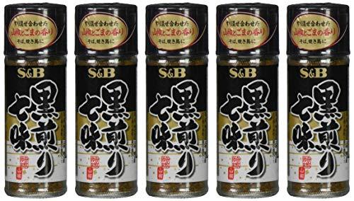 S&B 黒煎り七味 15g