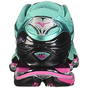 Mizuno Women's Wave Prophecy 7 Running Shoe, Billard/Pacific, 10.5 B US