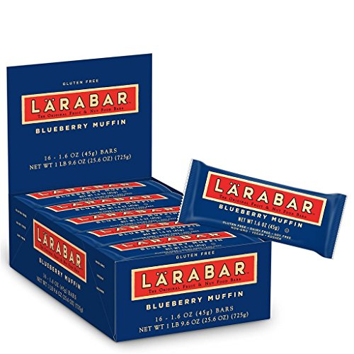 Larabar Gluten Free Bar Blueberry Muffin 16 Ounce Pack of 16