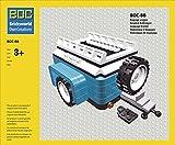 BOC-BB Gepäck Anhänger Farbe Dark Azur Blau Zubehör für Lego 10252 Käfer / Beetle