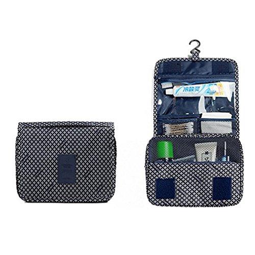 ColorMixs®Cosmetic Bag impermeabile toeletta dell'organizzatore di corsa portatile toilette Borsa / Viaggi portatile per la donna-grande capacità di viaggiare o di tutti i giorni