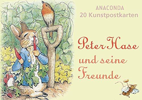 Postkartenbuch Peter Hase und seine Freunde