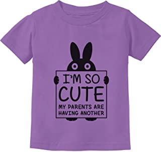 Tstars - I'm So Cute My Parents are Having Another Toddler Kids T-Shirt