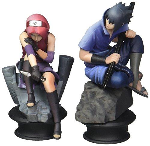 Megahouse Naruto Shippuden Chess Piece Collection Sasuke & Sakura Set