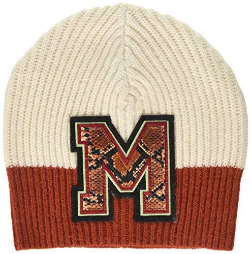 Scotch & Soda Maison Damen Varsity Colour Block Beanie with Badge Baseball Cap, Mehrfarbig (Combo A 17), One Size (Herstellergröße: OS)