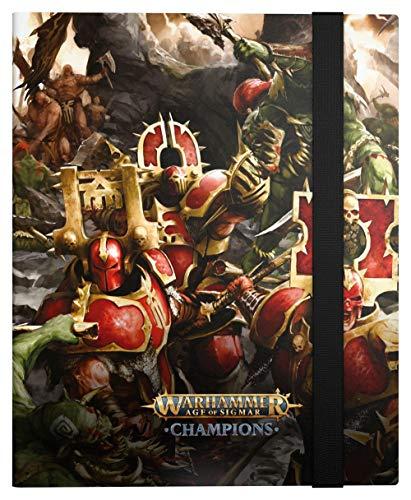 Ultimate Guard Warhammer Age of Sigmar: Champions 18-Pocket FlexXfolio Chaos vs. Destruction