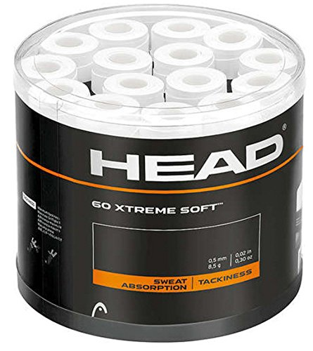 60 Head Xtreme Soft Overgips blanco