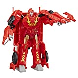 Transformers Toys Cyberverse Ultra Class Hot Rod Action Figure - Combines with Energon Armor to Power Up - For Kids Ages 6 and Up, 6.75-inch