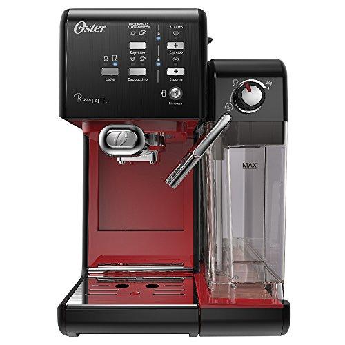 Cafeteira Espresso Prima Latte II, Vermelho, 110v, Oster