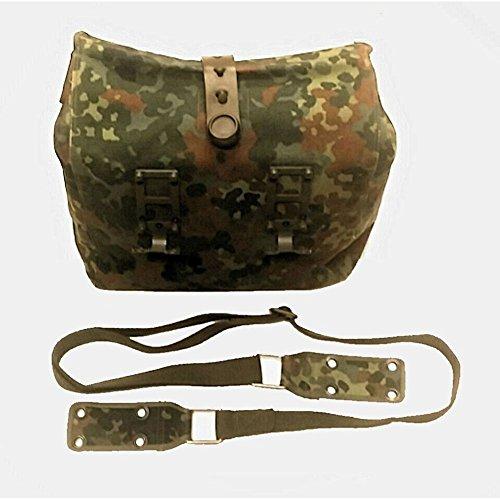 Armeeverkauf BW Maskentasche der Bundeswehr Flecktarn Mehrzwecktasche mit Tragegurt