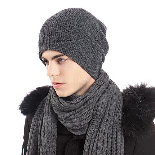 KYXXLD Winter hoed, jonge man wollen muts, winter en winter trui, gebreide muts