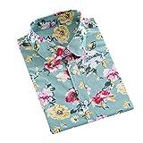 YCJ Camisa de la Impresión de la Camisa de la Camisa de la Camisa de la Camisa de la Camisa de la Camisa Femenina de la Camisa de la Camisa de la Camisa Patrón de Moda/H/M