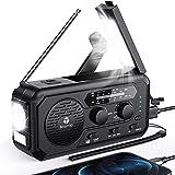 Best Crank Radios - 5000mAh Emergency Weather Radio, Hand Crank Solar Radio Review