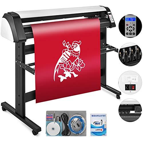 VEVOR EH1351 Vinyl Cutter Plotter 135cm Slogan Cutting Plotter Desktop Machine mit der Software Prefessional