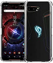 Slim Fit Clear Cover TPU Silicone Bumper Soft Anti-Scratch Shockproof Protective Case Compatible with ASUS ROG Phone 2 (Tr...
