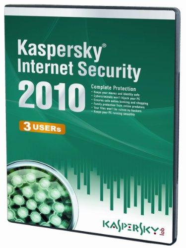Kaspersky internet security 2010 (3 postes, 1 an) [import anglais]