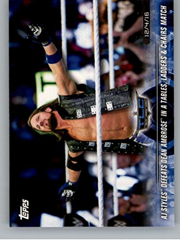 dean ambrose trading cards - 3
