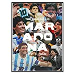 MRBIGWEI Argentina Football Star Diego Maradona Impresión en Lienzo Pintura Carteles Abstractos e Impresiones Imagen Sala de Estar Decoración para el hogar (50x75cm -20x30 IN Sin Marco
