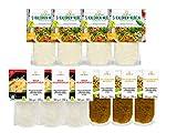 10er Packung | 5-Kalorien & Curcuma Nudeln & Glasnudeln | Glutenfrei, Vegan, Low Carb | Schultz und König…