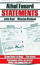 Statements [Paperback] [1993] First Edition Ed. Athol Fugard, John Kani, Winston Ntshona