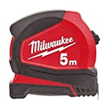 Milwaukee 4932459593 932459593 Pro Compact Tape Measure 5m (Width 25mm) (Metric Only)
