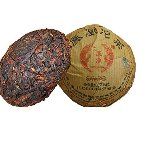 100g (0.22LB) Tuocha madura Premium Yunnan té de puer Old Tea Tree Materials Té de Pu'er Té negro Té chino Pu er tea Té maduro Puerh té Pu-erh té Árboles viejos Pu er té cocido Té rojo