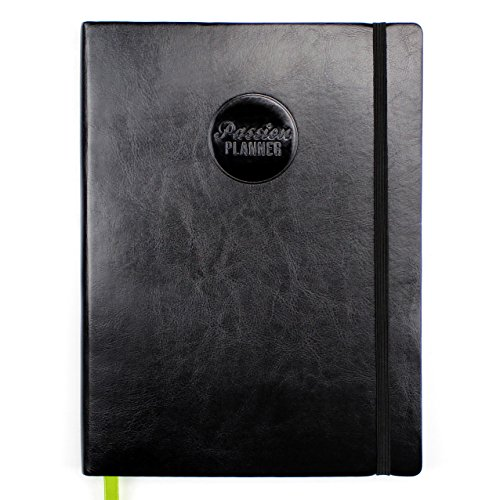 Passion Planner Undated - Goal Oriented Daily Agenda,...