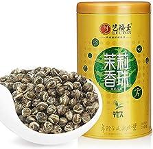 100% Organic Jasmine Dragon Pearl Tea 200g Green Tea Jasmine Dragon Balls Pearl Flower Tea jasmine pearl tea Canned Tin