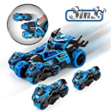 Magicwand® 🐇 3-in-1 Die-Cast Pull Back Catapult Chariot Car 🐉 with Ejecting Motorcycles