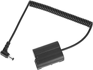 Bindpo Bateria atrapa, DC do EN-EL15 pełny dekoder fałszywy adapter baterii do Nikon 7 Z6 D850 D810 D750 D7200 D7100 D7000...
