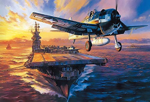 Military Warships 1000 Pieces Puzzles for Adults Landscape Jigsaw Puzzle Artwork Style Gifts product image