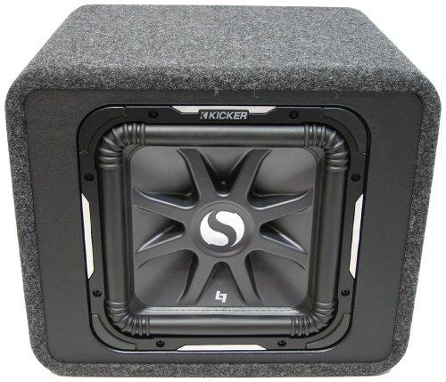 KICKER 11VS12L72 L7 Bassreflexbox Schwarz