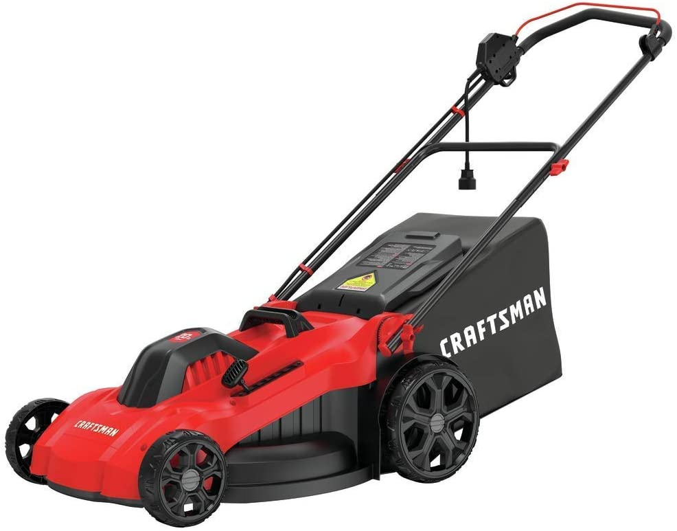 CRAFTSMAN Electric Choice Lawn Mower 13-Ah 20-Inch At the price Corded CMEMW213