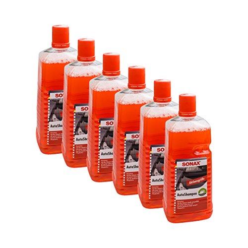 6 x Sonax 03145410 Auto Shampoo Concentraat, pH-Neutraal, 2 liter