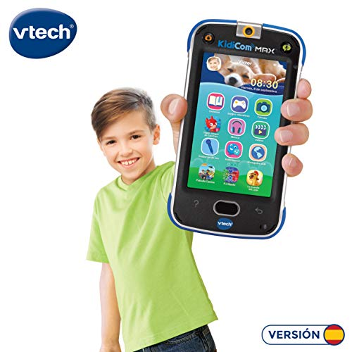 VTech Dispositivo multifunción Kidicom MAX, Color Azul (3480-169522)