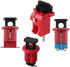Blesiya Set van 4 Miniatuurstroomonderbrekers Lockout Mcb Lockouts Safety Device