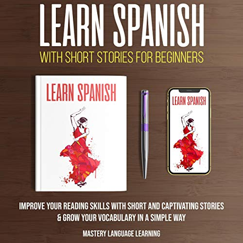 Learn Spanish with Short Stories for Beginners  By  cover art