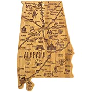 Totally Bamboo State Destination Bamboo Serving and Cutting Board, All States Available