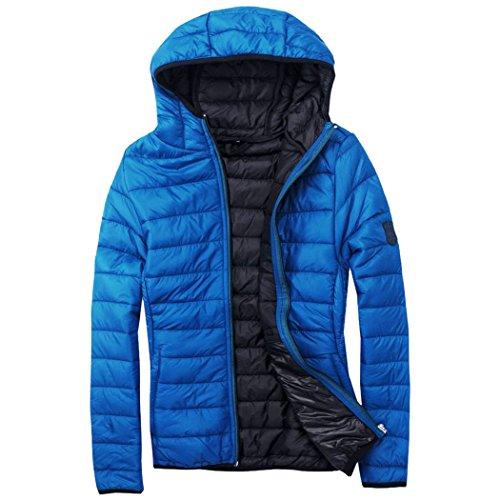 EXUMA Damen Sportbekleidung Aufgeblasen Jacke, Royal Blue, S